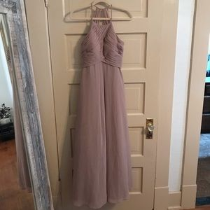 Azazie Ginger Taupe Bridesmaid Dress - Size A2